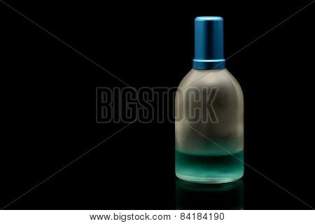Perfume Bottle Half Empty