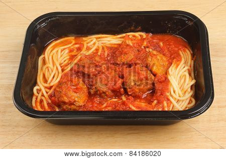 Meatballs In Carton