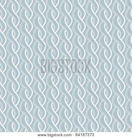 Seamless twisted pattern