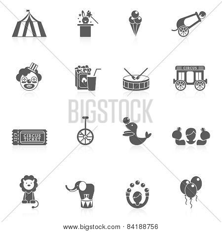 Circus Icon Black