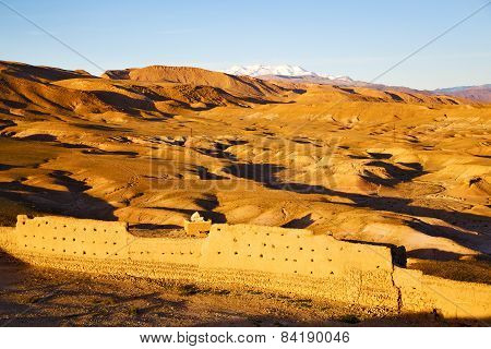 Hill Africa In Morocco The Old