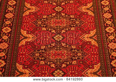 USSR. Classic Arabic Pattern. Asian Carpet Texture