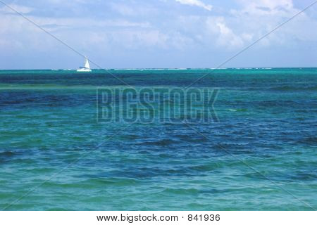 Carribean Sailboat