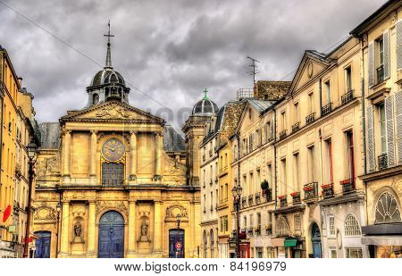View Of The Notre-dame Church In Versailles - France