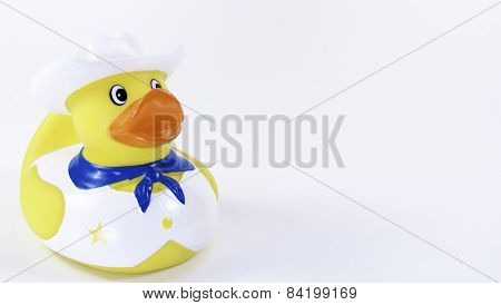 Cowboy Rubber Duck