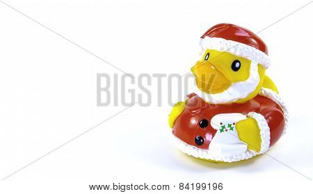 Santa Rubber Duck