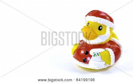 Santa Rubber Duck