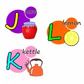 picture of letter j  - the Illustration dedicated to the letters J - JPG