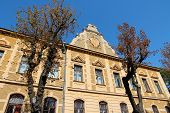picture of old post office  - Brasov Romania - JPG