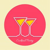 picture of cocktail menu  - Cocktail party - JPG