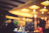 stock photo of  photo  - Blurred cafe  - JPG