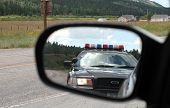 Постер, плакат: Зеркало полиция