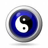 picture of ying yang  - Ying yang icon - JPG