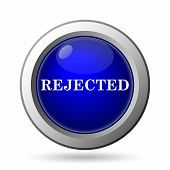 foto of reject  - Rejected icon - JPG