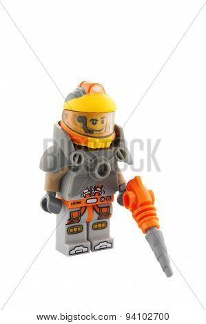 Space Miner Series 12 Lego Minifigure