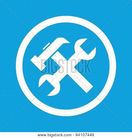 Repairs sign icon
