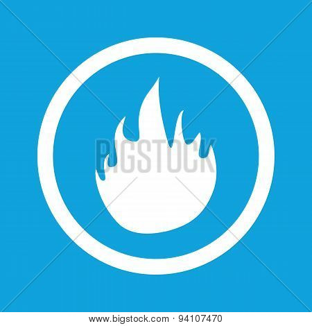 Fire sign icon