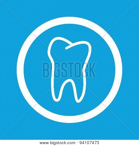 Tooth sign icon