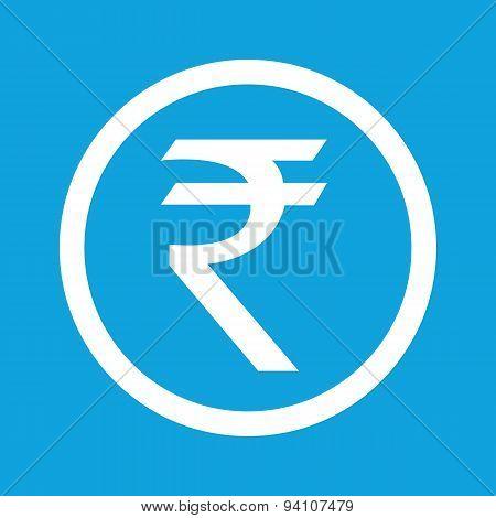 Rupee sign icon
