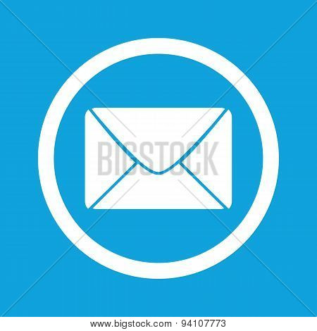 Letter sign icon