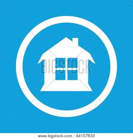 House sign icon