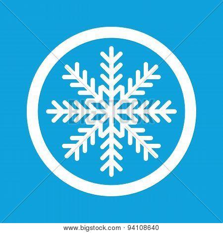 Winter sign icon