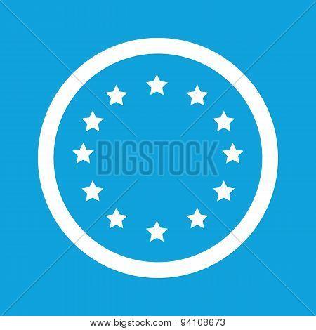 European Union sign icon