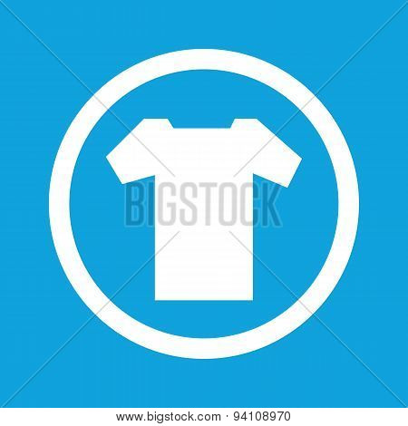 T-shirt sign icon