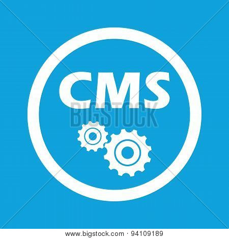 CMS settings sign icon