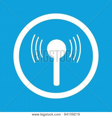 Signal sign icon