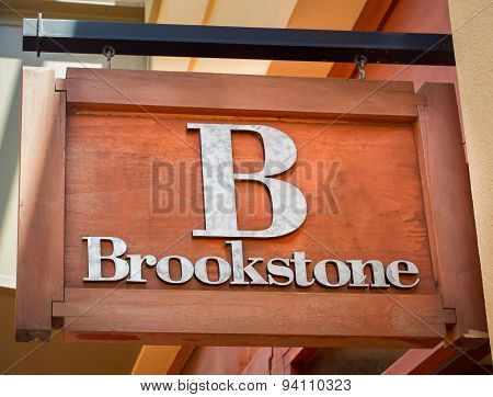 Brookstone Retail Store Sign