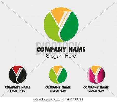 Letter Y alphabet logo vector letter Y icon