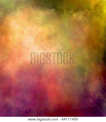 Colorful Textured Background - Digital Painting