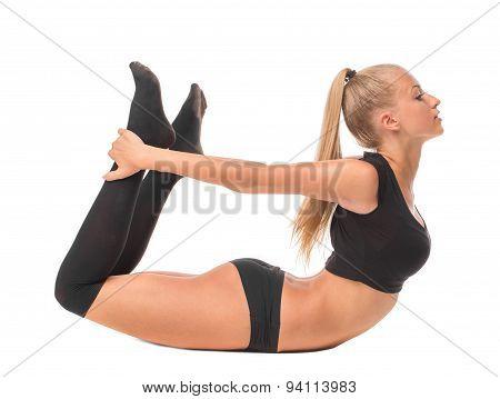 Female model. Gymnast.