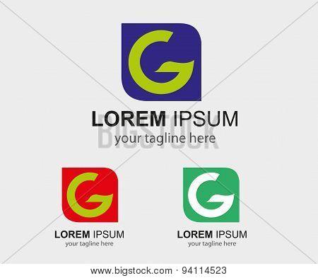G logo template - Symbol letter G