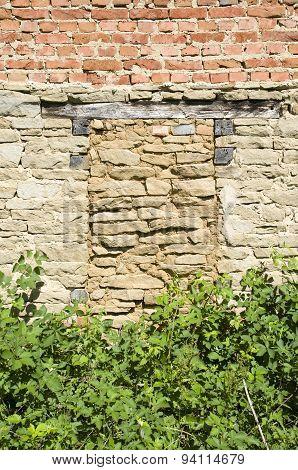 Immured Old Stone Door,  Bulgaria