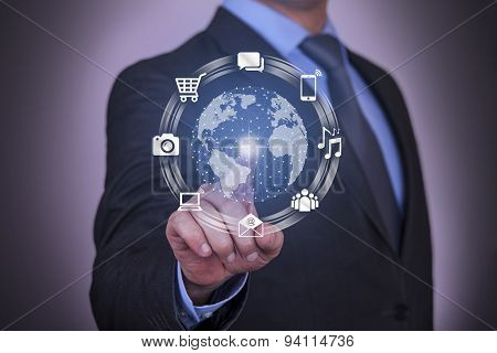 Global Communication Touch Screen