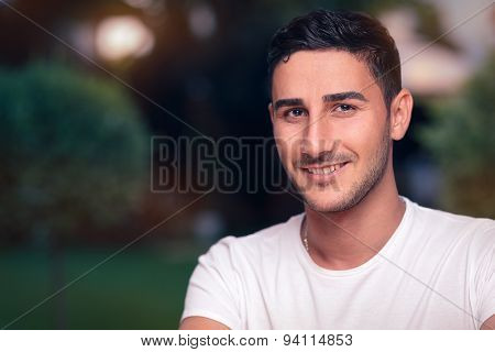 Smiling Young Man Headshot