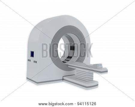 Ct Scanner Isolated On White