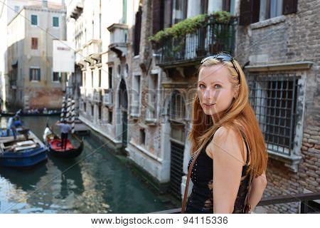 Woman  In Venicewoman  In Venice