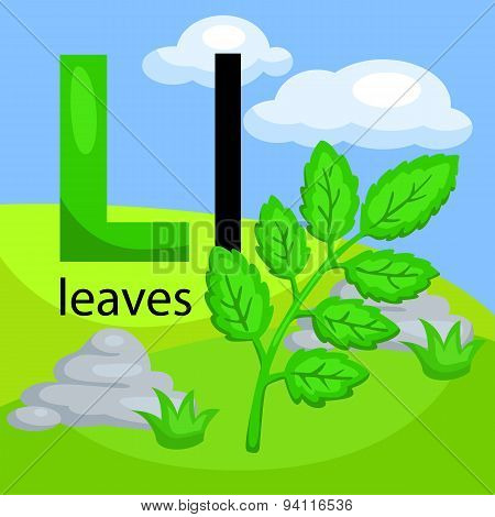 L for leave