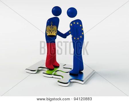 Business Partners Liechtenstein and European Union