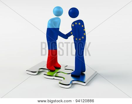 Business Partners Lugansk People's Republic and European Union
