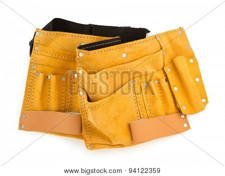 tool belt isolated on white background