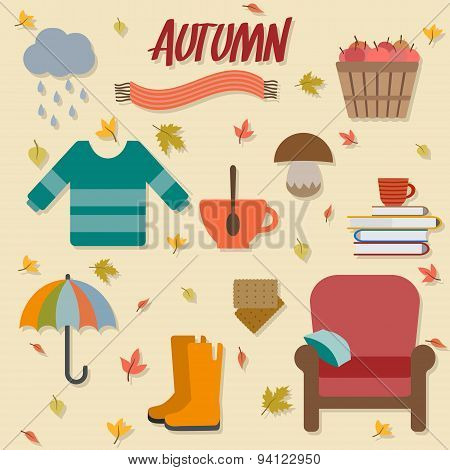 Autumn objects