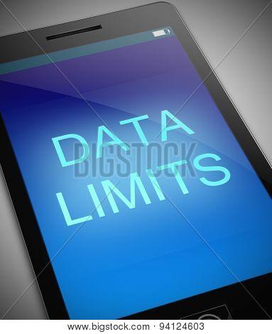 Data Limit Concept.