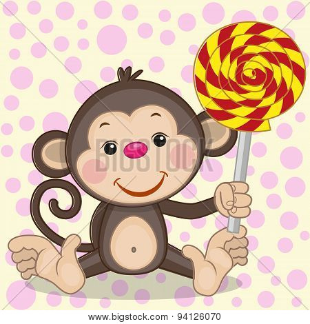 Monkey With Candy