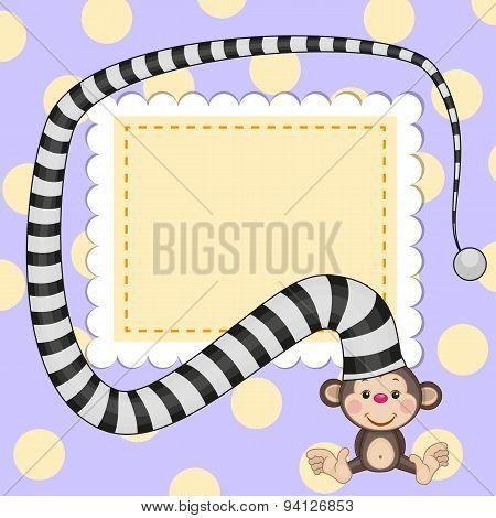 Monkey In Hat