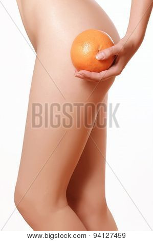Female Figure Without Cellulite
