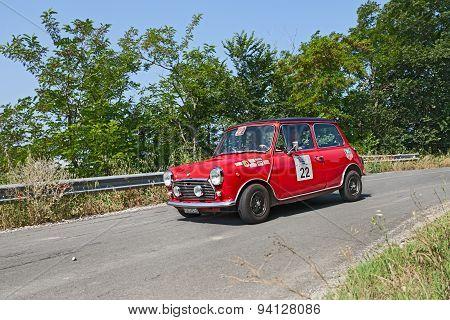 Vintage Mini Cooper Mk3 (1972)